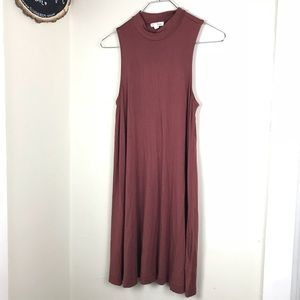 UO Silence and Noise Rayon Tank Dress